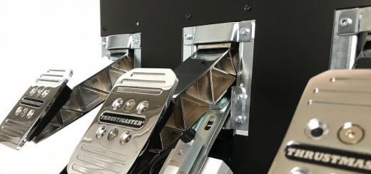 Thrustmaster T3PA PRO los pedales que facilitan la conducción