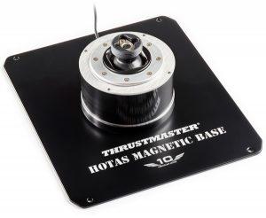 Base magnética de Thrustmaster con el logo del 10º aniversario
