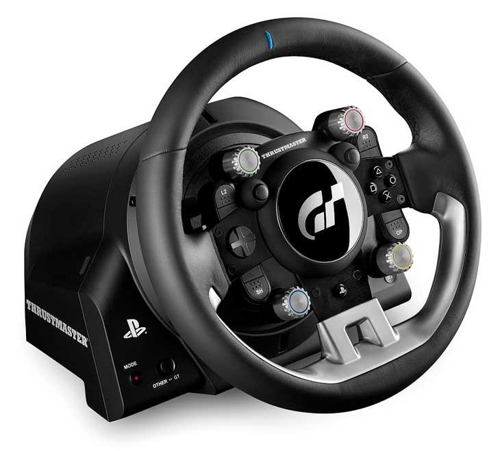 El volante Thrustmaster T-GT