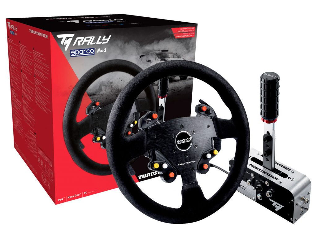 TM Rally Wheel Add-On Sparco R383 MOD